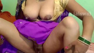 Raise your feet with your feet and then fuck in Hindi voice and anal sex hard